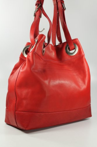 Belli , shoppers femme Rouge - Rouge