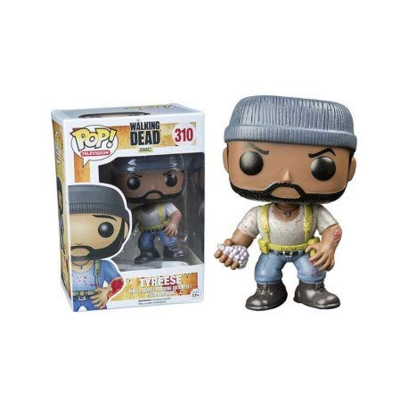 Funko 6119 – Walking Dead, Pop Vinyl Figure 310 Tyreese (Bitten Arm), 9 cm