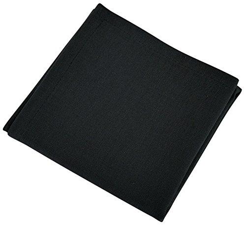 VENT DU SUD 12STYUCBAS Lot DE 12 Serviettes de Table Coton Basalte 45 x 45 cm