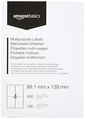 AmazonBasics - Etiquetas de dirección multiusos