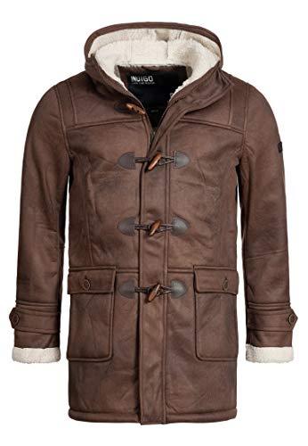 Indicode Calshot Manteau d'hiver pour Homme - Marron - X-Large
