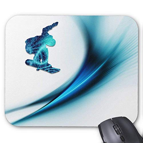 Snowboard Decor Mauspad Computer Mousepad 300 * 250 * 3mm