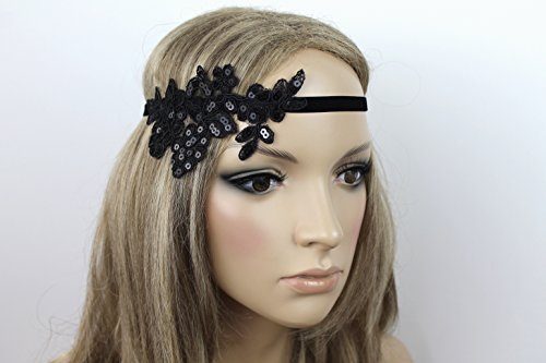 Haarschmuck Haarband Vintage 20er Jahre Flapper Stirnband -