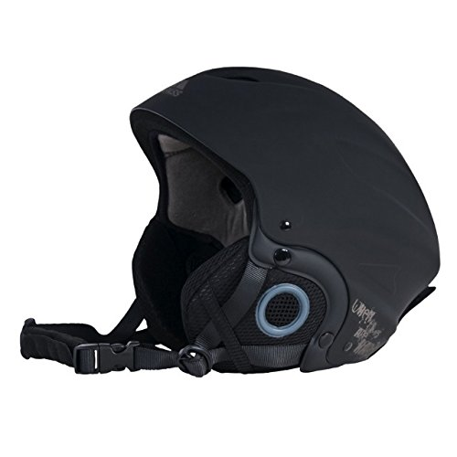 Trespass Skyhigh Sport Ski-Helm (Large) (Schwarz)