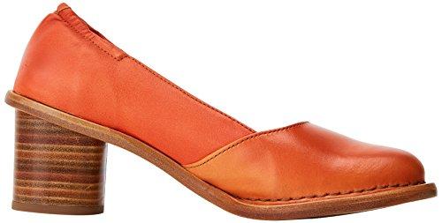 Neosens S577 Restored Skin Carrot/Debina, Scarpe Col Tacco Punta Chiusa Donna Arancione (Carrot)