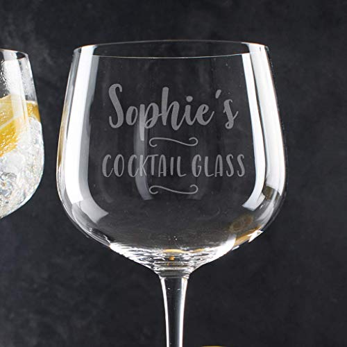 Personalisierbares Cocktailglas mit Gravur - perfekt zum Cocktail Set - Valentinstag Geschenk für sie -