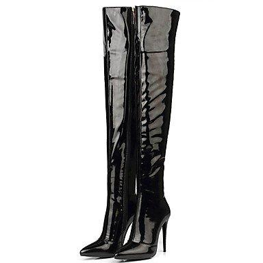 love-scarpe-da-donna-stivali-invernali-stivali-alla-moda-in-vernice-partito-sera-vestito-tacco-a-spi