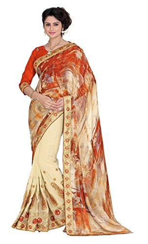 Chigy Whigy Multi Satin Casual Wear Sarees