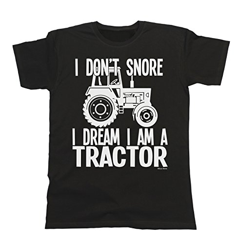 hombres-y-damas-i-dont-snore-i-dream-im-a-tractor-t-shirt-mens-ladies-unisex-farmer