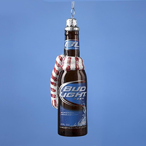 55-happy-hour-budweiser-bud-light-beer-bottle-with-scarf-christmas-ornament-by-kurt-adler