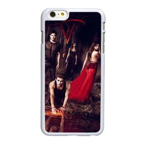 Vampire Diaries Saison F4Q76F2JA coque iPhone 6 6S plus le cas de 5,5 pouces de 6H4JUC blanc coque, coque iphone The Vampire Diaries