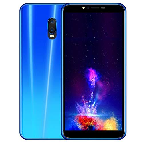 TianranRT R17 5.72 Zoll Dual HD Kamera Smartphone Android 1 GB + 4 GB Dual SIM Mobiltelefon Telefon (Blau)