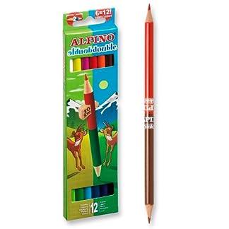 Alpino AL000169 – Estuche 12 lápices con 24 puntas
