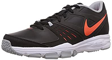 Nike Men's Air One Tr Sl Black,Hyper Crimson,Wolf Grey,White  Outdoor Multisport Training Shoes -6 UK/India (40 EU)(7 US)