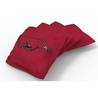 Wild Sports NCAA College Sitzsack-Set, Kornloch (8 Stück), Unisex-Erwachsene, NCAA Bean Bag Set, Team Color