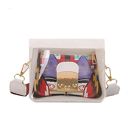 Kleine Damen Handtasche Umhängetasche Party Ball Disco Cognac - Cognac Mini Anhänger