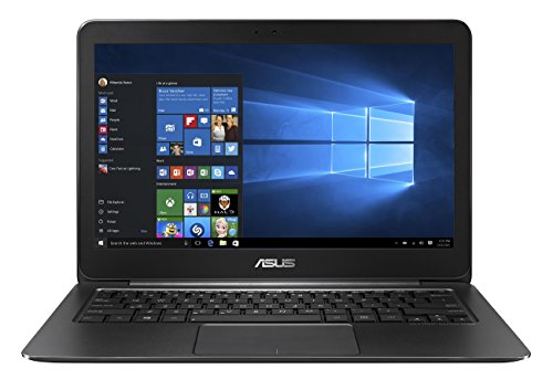 Asus Zenbook UX305CA-FB126T 33,8 cm (13,3 Zoll non Glare Quad HD) Notebook (Intel Core M7-6Y75, 8GB RAM, 256GB SSD, Intel HD, Win 10 Home) schwarz