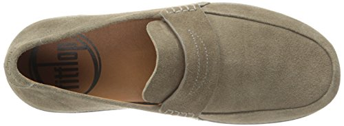 FitFlop Flex Suede, Mocassins homme Marron - Brown (Bungee Cord)