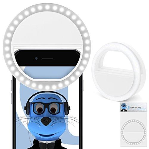 Weiß Klipp auf 180 Grad Portable 3 in 1 Kamera-Objektiv-Kit - FishEye - Weitwinkel - Makro für LG Optimus Pad V900