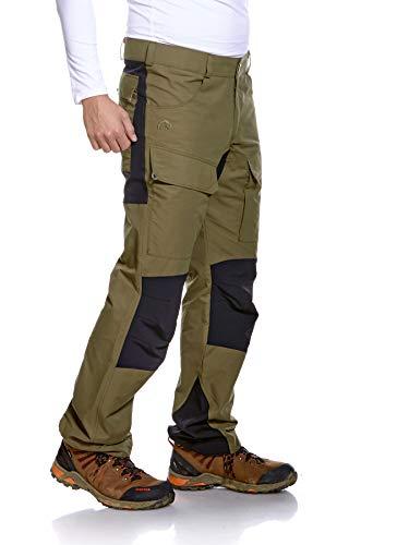 Tatonka Greendale M's Pants - bequeme Outdoor-Hose mit elastischen Softshell-Einsätzen und Seitentaschen - Wanderhose für Herren - Größe 52 - oliv