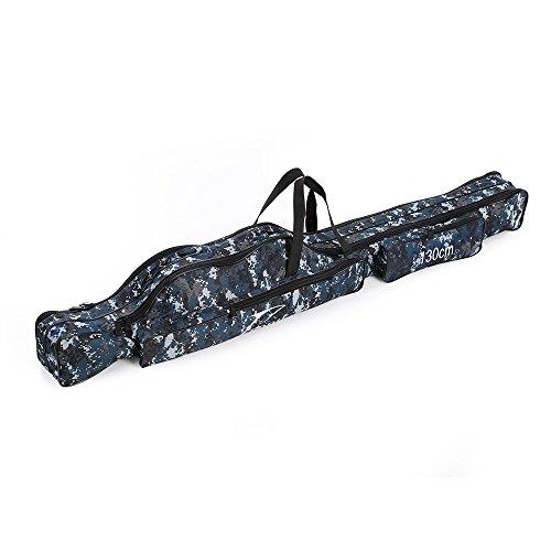 Docooler portatile sacca canna da pesca attrezzi da pesca