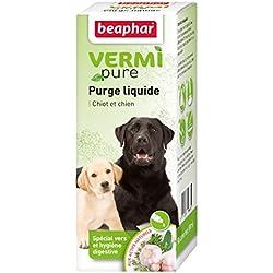 Beaphar - VERMIpure, solution liquide hygiène digestive - chien - 50 ml
