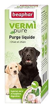 Beaphar - VERMIpure, purge liquide spéciale vers et hygiène digestive - chien  - 50 ml
