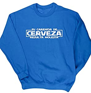 franquicias comida: HippoWarehouse SU CARENCIA DE CERVEZA RESULTA MOLESTA jersey sudadera suéter der...