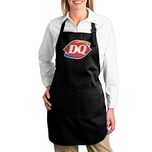 dairy-queen-logo-bib-apron-with-pockets-kitchen-and-cooking-apron-durable-stripe-for-cooking-grill-a