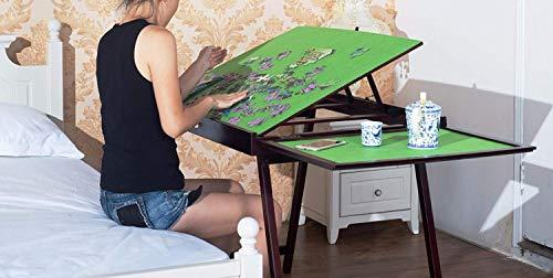 chuck & blair Bohrfutter, Blair Hot, Puzzle-Aufbewahrung aus Holz, faltbar, faltbare gegen-Zubehör für Erwachsene, portable- Puzzle