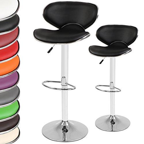Miadomodo - Tabouret Chaise de Bar Pivotante Hauteur Réglable (Couleur/Quantité au Choix)