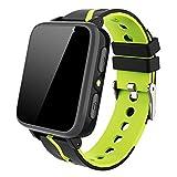 Smartwatch Bambini - Touch Screen HD Sport Smartwatch Telefono con Lettore musicale Chiama Chat Vocale SOS Fotocamera Allarme per Bambini Studenti 4-12 Anni