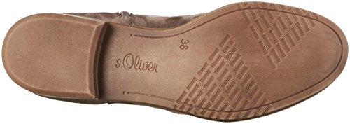 Stiefel 25501 s Braun Pepper Oliver Damen WTqTzn6SO