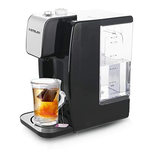 Heißwasserspender 2,2 L, Wasserbereiter mit Temperatureinstellung, Tee Kocher, Kessel für Glühwein, Heiß Getränk Automat (Wasser Dispenser Kessel)