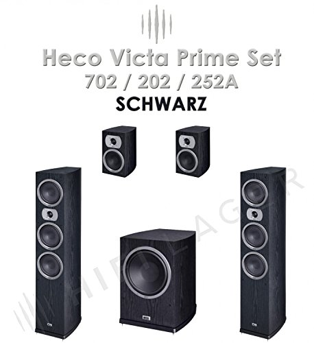 Price comparison product image Heco Victa 701/201/101 +251A SET, Colour: black, Series II, B-Ware