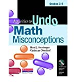 [( Activities to Undo Math Misconceptions, Grades 3-5 [With CDROM] - By Bamberger, Honi Joyce ( Author ) Paperback Sep - 2010)] Paperback