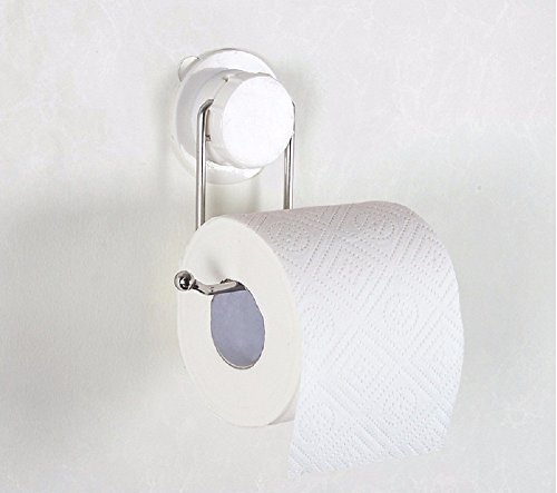 LESX-porta-carta igienica Cucina Sucker Rotolo Carta Vassoio Carta Asciugamano Acciaio Inossidabile Creative Nessuna Traccia Libera Chiodo - Gratis Carta Igienica Carta Igienica Rack