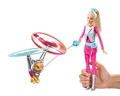 Barbie Starlight Abenteuer Barbie-Puppe u Fliegende Katze (Mattel DLT22)