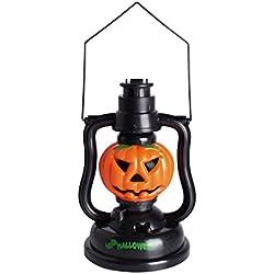 Decoración lámpara de mano calabaza de Halloween
