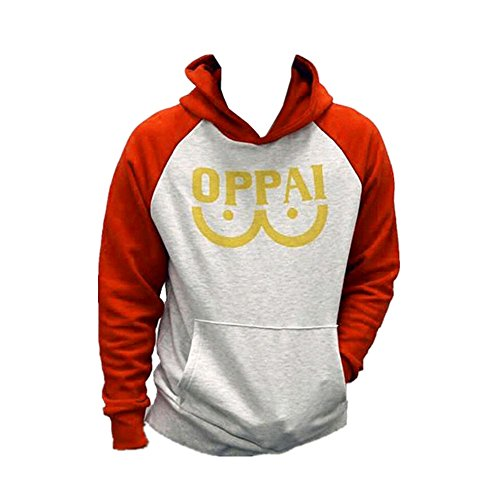 Daiendi Oppai Sweat à Capuche Hoodie Cosplay Costume Adulte Sweatshirt Pull à Capuche Manteau Vêtements pour Printemps Automne
