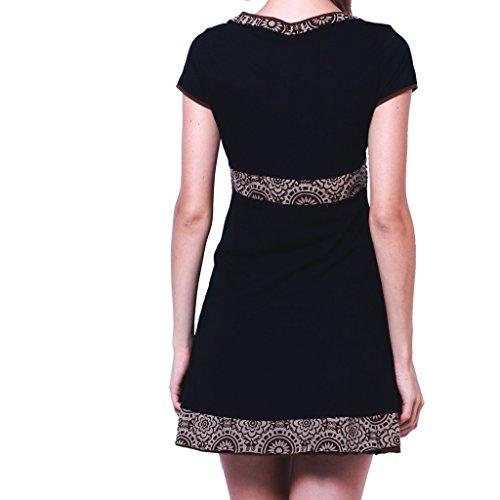 PANASIAM - Camicia - Tunica -  donna SD300 in schwarz