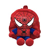 Spiderman Back Pack Toddlers,3D,plush, mini .Unisex, Cute,Soft,Super Hero collection