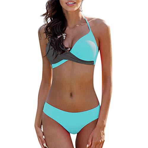 facf7b09b427 Costume da Bagno Donna Intero da Spiaggia Donna Costumi da Bagno Intero da  Bagno Bikini Imbottito