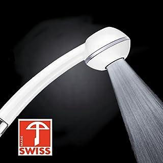 Duschkopf CHIC + WOW! Mehr Druck beim Duschen mit Durchlauferhitzer oder im 4. Stock. Verkalkungsfrei, wassersparend (ohne Softspray-Aufsatz+ohne Zusatzregler wie bei anderen Modellen dieser Brause)