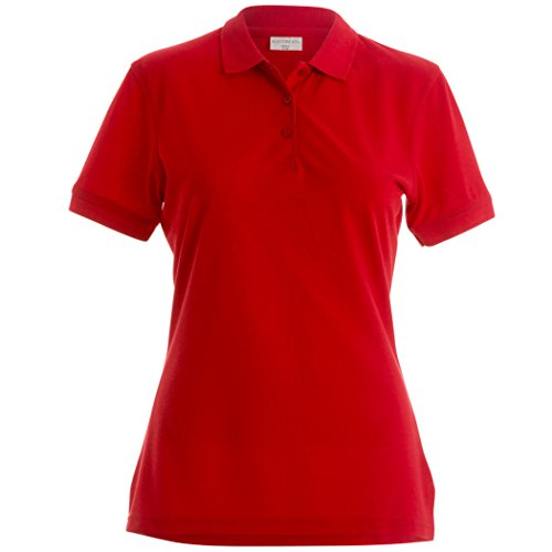 Klassic slim fit polo féminin Superwash® 60ºC Rouge