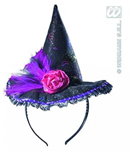 Witch Headbands 6 Styles Asstd Halloween Hats Caps & Headwear for Fancy Dress Costumes  Accessory
