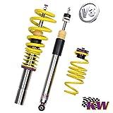 KW Automotive Gewindefahrwerk INOX LINE Variante 3 - V2 Edelstahl - Komplettes 4er Set für VA & HA - Artikelnr.: 35225091-1