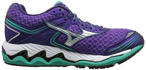 Mizuno Wave Paradox 2 Maschenweite Laufschuh Royal Purple/Silver