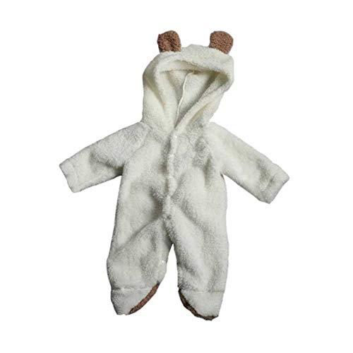JOMOO Pagliaccetti per Bambini Autunno Inverno Caldo Neonato Set di Vestiti per Neonati Set di Orsetti per orsi 3D per Neonato Set di Abbigliamento per Bambini