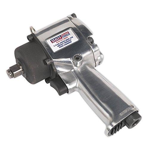Sealey sa203 carré Drive Air Impact 1/2 Clé à cliquet avec double marteau Compact